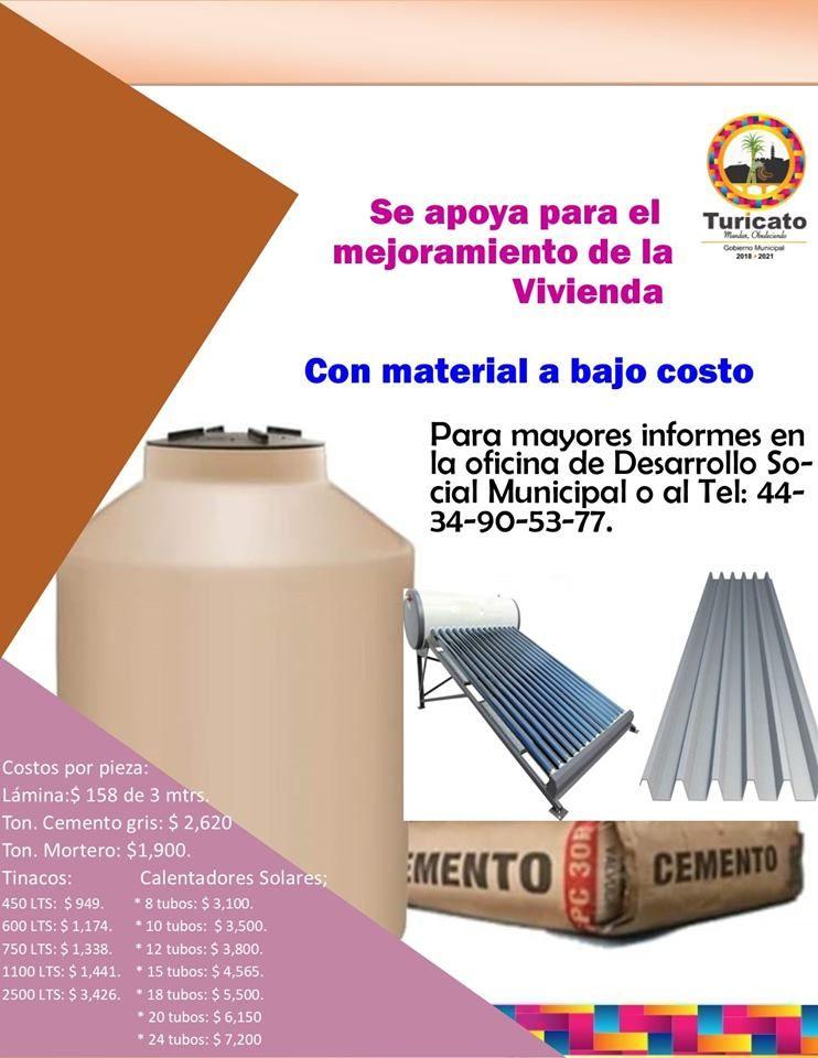 Materiales para el mejoramiento de la vivienda a bajo costo