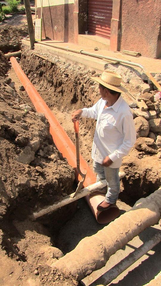Inicio de obra Pavimentación, Rehabilitación de Red de Distribución de Agua Potable y Red Sanitaria